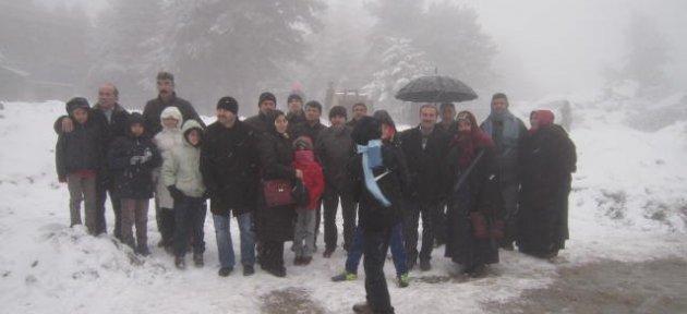 Öğretmenler Uludağ'da Stres Attı