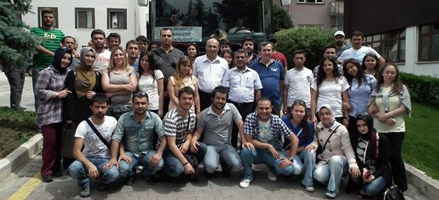 Orman Fakültesi'nden Amasya'ya teknik gezi