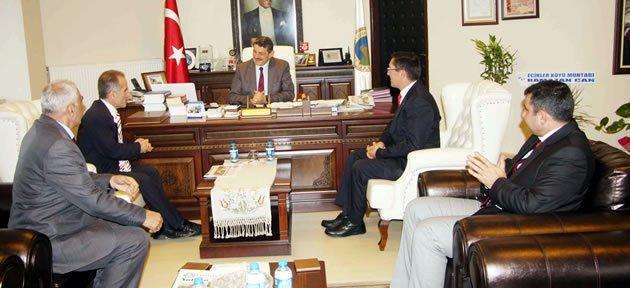 Orman-Sen'den Başkan'a ziyaret