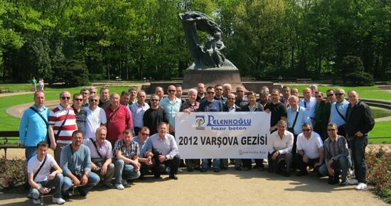 Pelenkoğlu Varşova'da