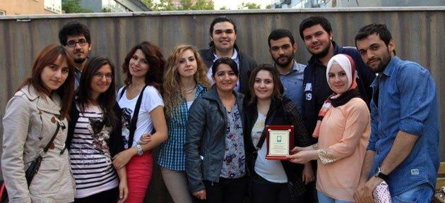 Peyzajcılara 3. lük Ödülü