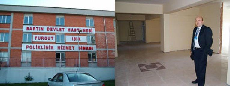 Poliklinikler 15 gün sonra yeni binada