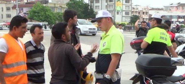 Polis Kural Tanımaz Motorculara Göz Açtırmıyor