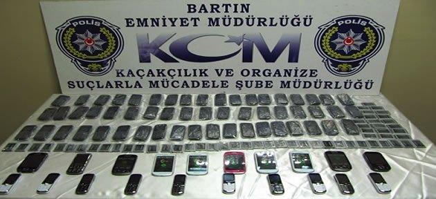 Polisten Kaçak Telefon Operasyonu