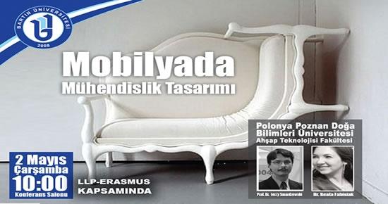 Polonyalı profesörlerden Mobilyada Mühendislik Tasarım konferansı