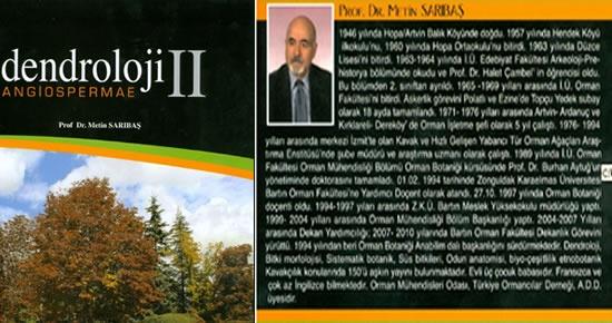 Prof.Sarıbaş'ın Dendroloji II kitabı çıktı