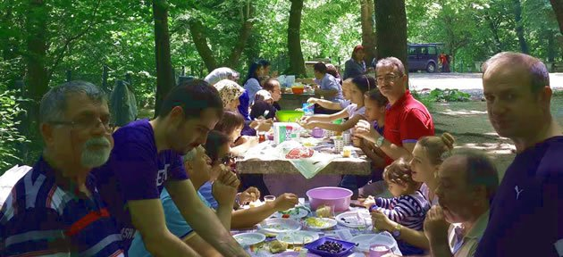 Rasat Çalışanları Piknikte Buluştu