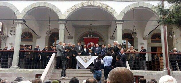 Restorasyonu Tamamlanan Şadırvan Camii İbadete Açıldı