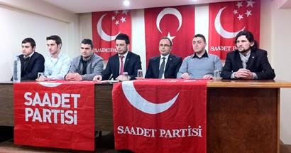 Saadet Partisi'nde görev dağılımı yapıldı