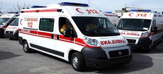 Sağlık Müdürlüğü'ne tam donanımlı ambulans