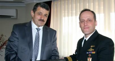 Sahil Güvenlik Grup Komutanı'ndan Başkan'a ziyaret