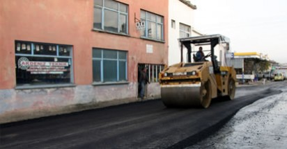 Sanayi'de asfalt devam ediyor