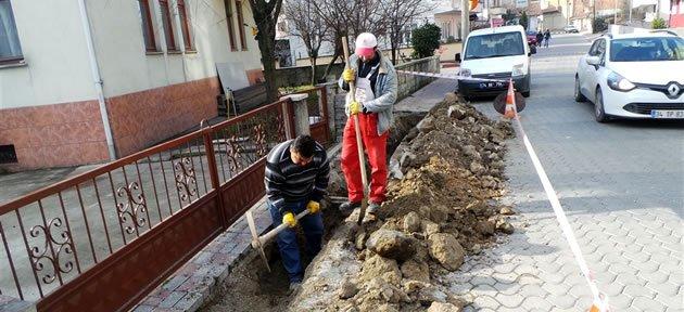 Şehit Ahmet Uğur Sokak'ta Alt Yapı Tedbiri