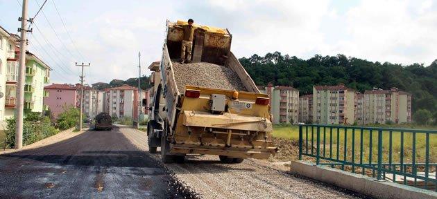 Selbasan Sokak'a asfalt
