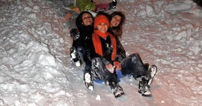 Selim Bostancı'nın objektifinden Bartın'dan kar manzaraları
