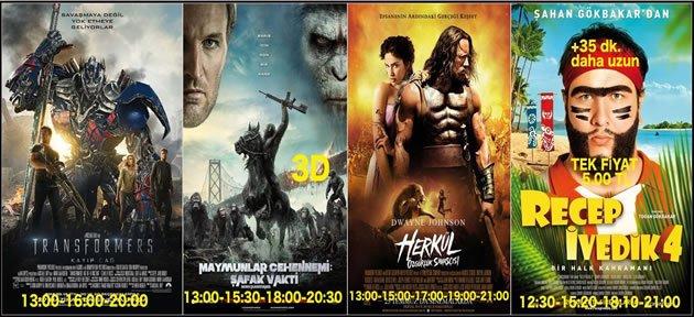 Sinemalarda Bu Hafta (25 Temmuz)