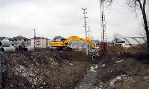 Şiremir Çavuş mahallesine yağmur suyu hattı
