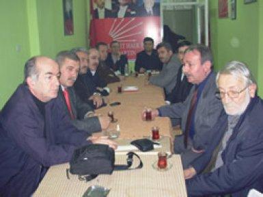 Siyasiler ATİ için toplandı