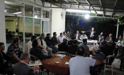 SP adayları köy ziyaretlerini sürdürüyor