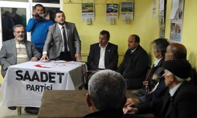 SP adayları Sarnıç, İnceçam ve İbrahimderesi köylerinde