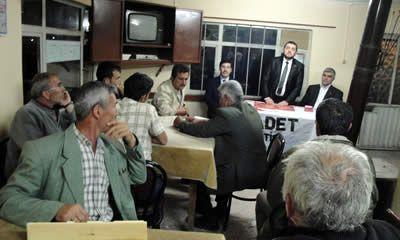 SP adayları seçim çalışmalarında
