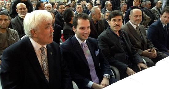 SP Bartın teşkilatı Fatih Erbakan'la biraraya geldi
