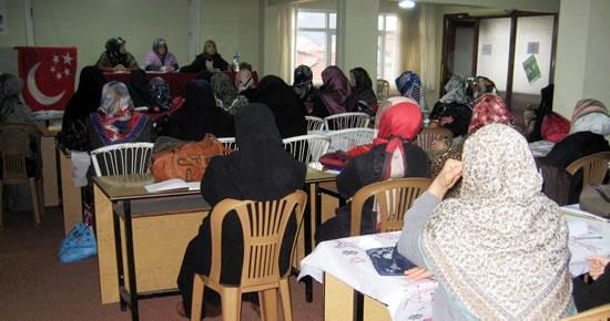 SP Hanım Kolları 8. Bölge Toplantısı