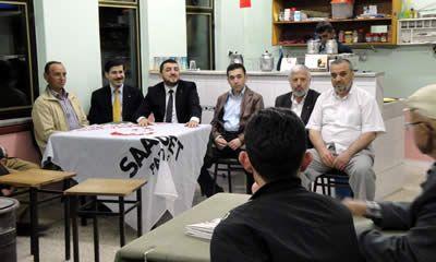 SP Milletvekili adayları seçim çalışmalarına devam ediyor