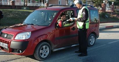 Sürücüler Kış Tedbirleri konusunda bilgilendirildi