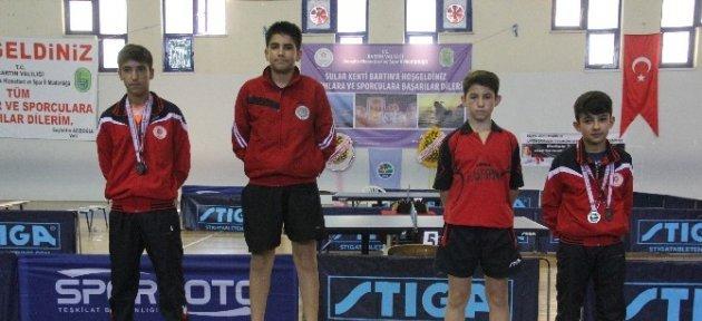 Talat Yılmaz Masa Tenisi Minikler Türkiye Şampiyonası Sona Erdi