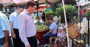 Tunç'tan Esnaf Ziyareti