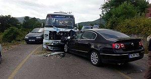 Mugada Yolunda Feci Kaza: 11 Yaralı