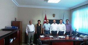 TSO'dan SGK İl Müdürü Ünlü'ye Ziyaret