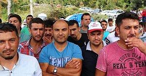 500 madencinin grevi sürüyor