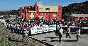 Amasra'da 500 Madenci Greve Çıktı
