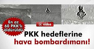 Teröristlerin Mühimmat Deposu Böyle İmha Edildi - VİDEO