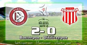 Bartınspor Dikilitaş'ı Devirdi: 2-0
