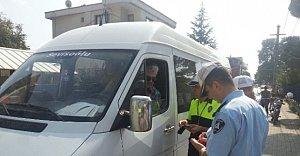 Okul Servislerine Zabıta Ve Polis'ten Denetim