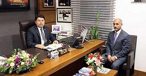 Göç Müdürü Öner'den Tunç'a Ziyaret