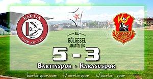 Gol Düellosu Bartınspor'un: 5-3