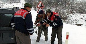 Jandarma'dan Kış...