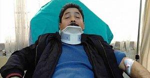 Başına Kar Kütlesi Düşen Postacı Yaralandı
