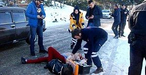 Seyir halindeki otomobile pusu: 1 ölü, 1 yaralı