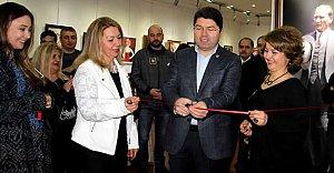Tunç Ankara'da Sergi Açtı