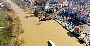 Bartın Irmağı Havadan Görüntülendi...