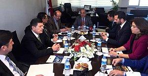 CHP İş Kazaları İnceleme Komisyonu Ziyaretlerde Bulundu