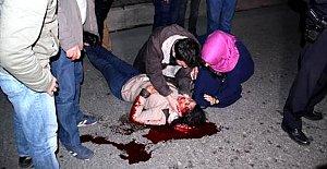 Halk otobüsünün çarptığı genç kız ağır yaralandı