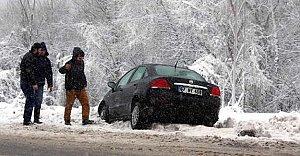 Kar ulaşımı aksattı