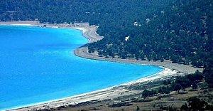 Mavi Boncuk Salda Gölü