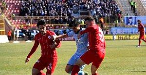 Olaylı Maç Boluspor'un - VİDEO
